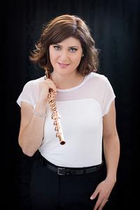 Flautist Bridget Bolliger